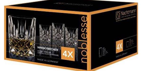 Sada 4 sklenic na whisky z křišťálového skla Nachtmann Noblesse, 295ml5