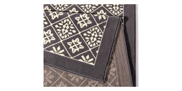 Šedo-béžový koberec Hanse Home Gloria Tile, 160x230cm3