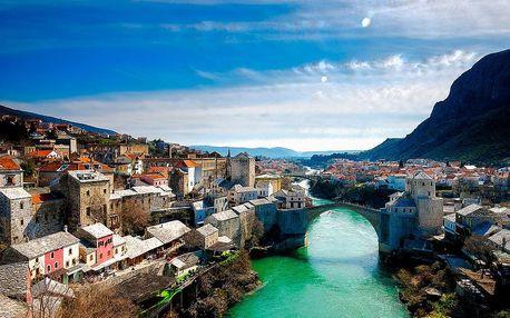 Bosna a Hercegovina s koupáním na Makarské riviéře | 5denní poznávací zájezd