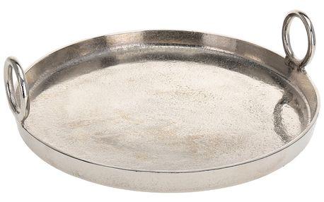Podnos pro občerstvení, dresinky a předkrmy - kruhová, hlinik EH Excellent Houseware