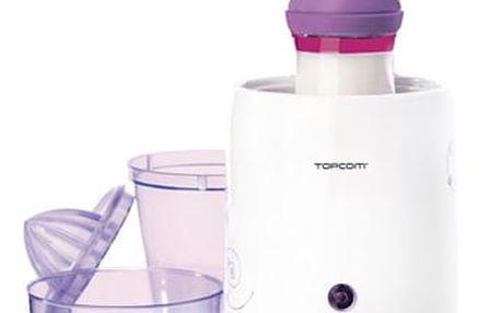 Ohřívač kojeneckých lahví Topcom 301 - 3v1 bílý/fialový
