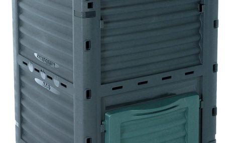 Emako Zahradní kompostér, uzavřený- 300 l