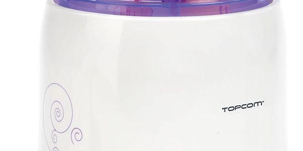 Ohřívač kojeneckých lahví Topcom 301 - 3v1 bílý/fialový2