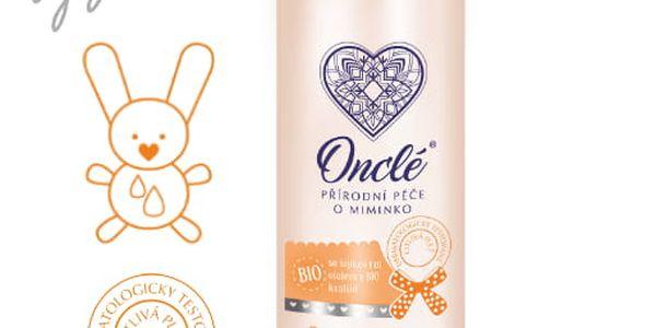 ONCLÉ Dětský vyživující tělový olej (200 ml)2