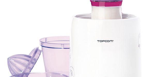 Ohřívač kojeneckých lahví Topcom 301 - 3v1 bílý/fialový3