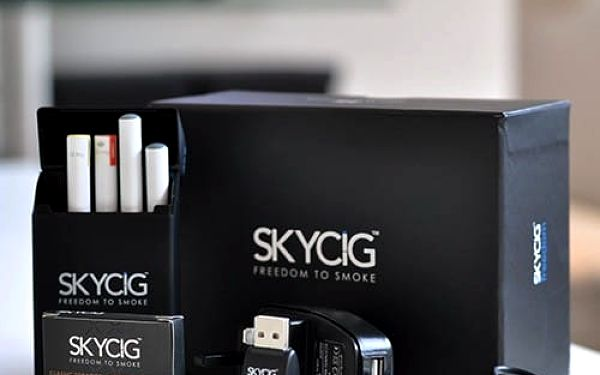 Elektronická cigareta SKYCIG: britská certifikovaná kvalita
