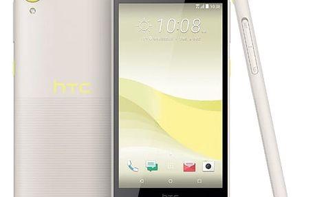 Mobilní telefon HTC Desire 650 Single SIM - lime light žlutý + DOPRAVA ZDARMA