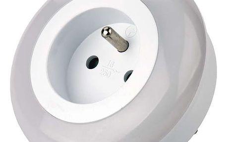 Noční světlo EMOS do zásuvky, 3 x LED (1456000070) bílé