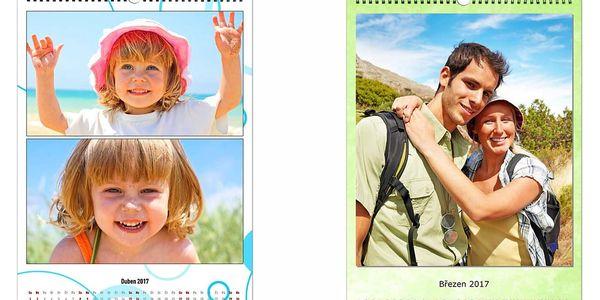 Nástěnný fotokalendář A4, poštovné v ceně2