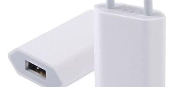 Nabíječka do sítě Apple A1400 - bulk (A1400) bílá2