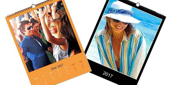 Nástěnný fotokalendář A4, poštovné v ceně3