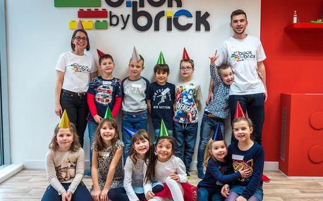 Zábavná narozeninová oslava pro děti 3-14 let v Brně + dort