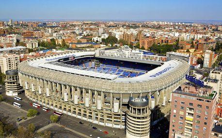 Zájezd na zápas ligy mistrů Real Madrid vs Viktoria Plzeň