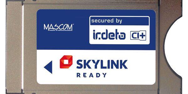 Modul Mascom Irdeto Skylink Ready CI+1.3 (CIM-SKY-IR CI+ MSC) stříbrné2