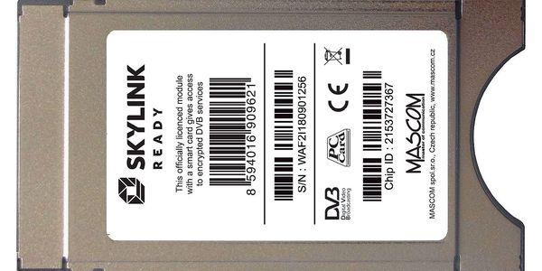 Modul Mascom Irdeto Skylink Ready CI+1.3 (CIM-SKY-IR CI+ MSC) stříbrné3