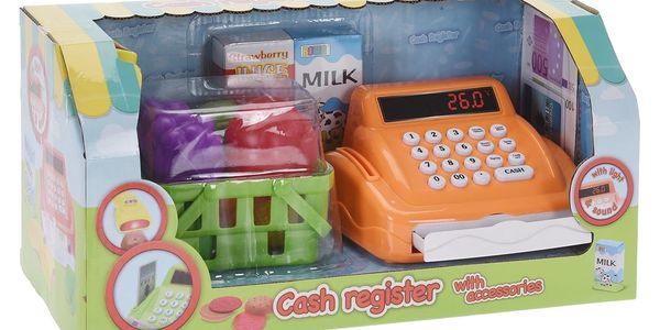 Dětský hrací set Pokladna, zelená2