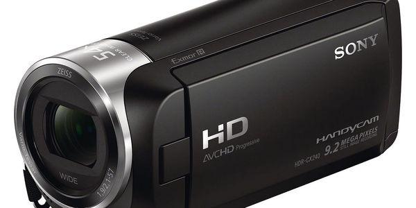 Videokamera Sony HDR-CX240E černá4
