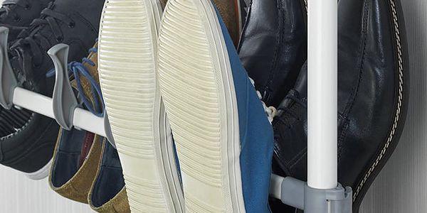 Teleskopický organizér na obuv ATLAS - 42 páry bot, WENKO3