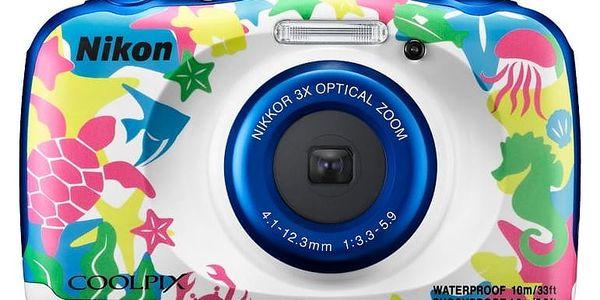 Digitální fotoaparát Nikon W100 BACKPACK KIT (VQA014K001)2