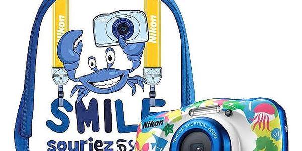 Digitální fotoaparát Nikon W100 BACKPACK KIT (VQA014K001)5
