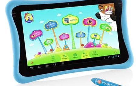 """Dotykový tablet GoGEN MAXPAD9 G4P 9"""", 8 GB, WF, Android 4.4 (MAXPAD9G4B) modrý Software F-Secure SAFE, 3 zařízení / 6 měsíců v hodnotě 979 Kč"""
