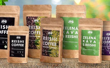 Káva s reishi: černá, zelená, mix i instantní