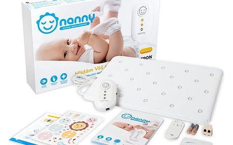 Monitor dechu Nanny BM-02 bílá