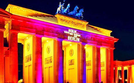 Zájezd pro 1 osobu do Berlína na festival světel. Světelná show, nasvícené kulturní památky.
