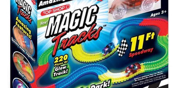 Magic Tracks svítící autodráha2