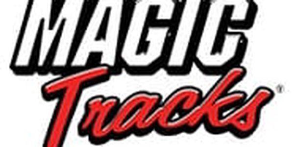 Magic Tracks svítící autodráha3