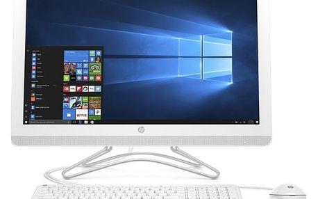 Počítač All In One HP AiO 24-e013nc (2BZ77EA#BCM) bílý Software F-Secure SAFE, 3 zařízení / 6 měsíců v hodnotě 979 Kč