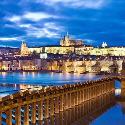 3 dny v rodinném hotelu s možností romantické večeře v centru Prahy