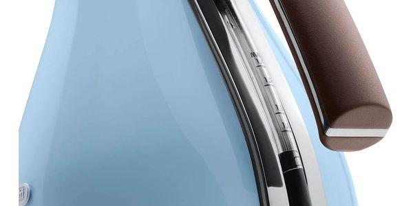 Rychlovarná konvice DeLonghi Icona Vintage KBOV2001AZ modrá2