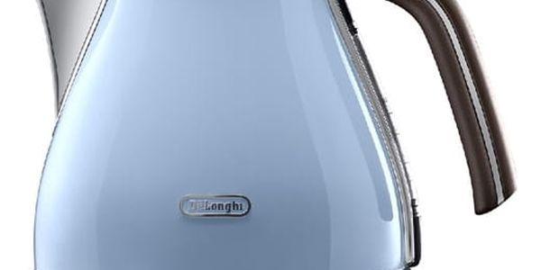 Rychlovarná konvice DeLonghi Icona Vintage KBOV2001AZ modrá
