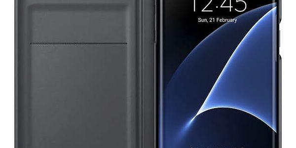 Pouzdro na mobil flipové Samsung pro Galaxy S7 Edge (EF-WG935P) (EF-WG935PBEGWW) černé3