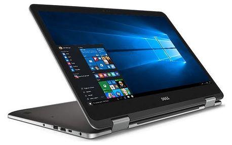 Notebook Dell 17z 7000 (7773) Touch (TN-7773-N2-511S) šedý Software F-Secure SAFE, 3 zařízení / 6 měsíců + Monitorovací software Pinya Guard - licence na 6 měsíců v hodnotě 1 178 Kč + DOPRAVA ZDARMA