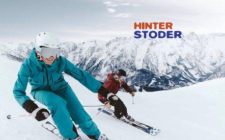 Jednodenní lyžařský zájezd do Rakouska | Středisko Hinterstoder | Sleva na skipas | Pražská linka