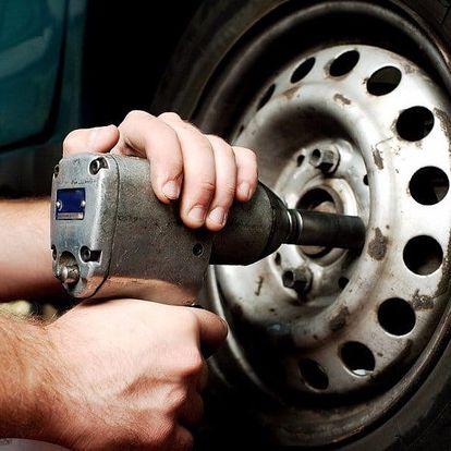 Přezutí pneumatik vč. vyvážení v centru Brna