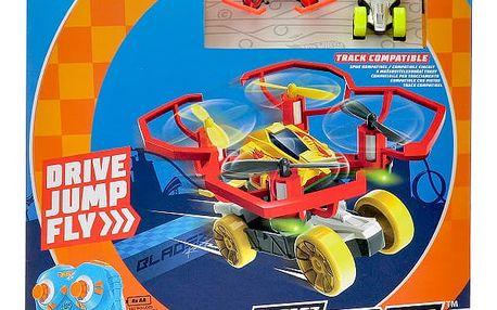 Hot Wheels Quad Racerz auto/dron na baterie + poštovné