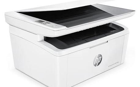 Tiskárna multifunkční HP LaserJet Pro MFP M28w (W2G55A#B19) bílý + DOPRAVA ZDARMA