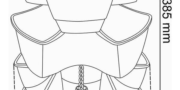 PROSPERPLAST COUBI kaskádový květináč 29,5x29,5x88cm, bílá DKN300W2