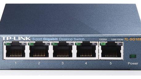 Switch TP-Link TL-SG105 (5 port, Gigabit) (TL-SG105)