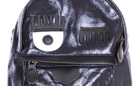 Fashion Icon Dámský batoh - kabelka Shiny Birdy  lesklý