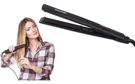 Profesionální keramická žehlička na vlasy Gemei s LCD dispelejem