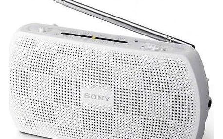 Radiopřijímač Sony SRF-18 bílý