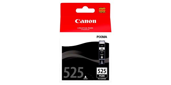 Inkoustová náplň Canon PGI-525Bk - 2pack - originální černá (4529B006)