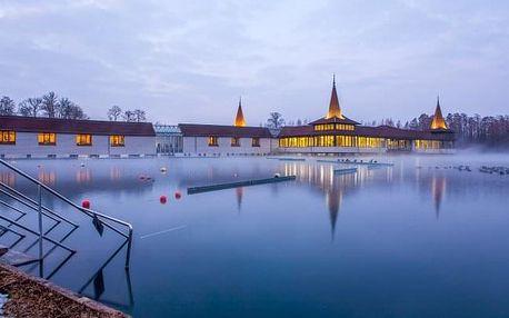 Wellness pobyt přímo u jezera Hévíz