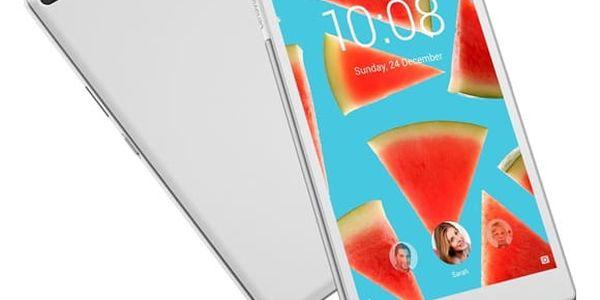 """Dotykový tablet Lenovo TAB4 8"""" LTE (ZA2D0004CZ) bílý SIM karta T-Mobile 200Kč Twist Online Internet v hodnotě 200 Kč"""