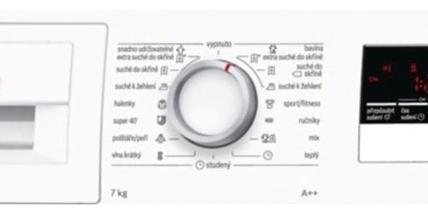 Sušička prádla Bosch WTH85207CS bílá2