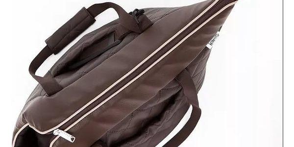 Luxusní cestovní taška z eko kůže pro psy i kočky: 3 velikosti a 5 barev3